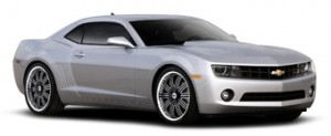 2011 Chevrolet Camaro LT with an RS Appearance Package
